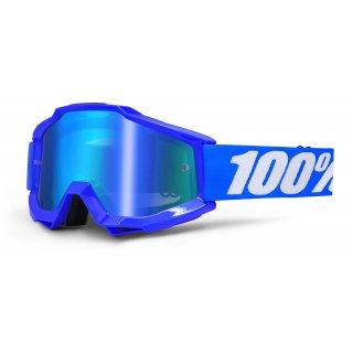 100% Cross-Brille ACCURI Reflex blue, mirror blue